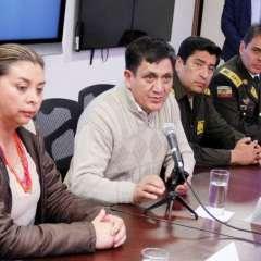 Autoridades aseguran que tienen un plan ágil de repatriación de corroborarse identidad de periodistas. Foto: Twitter Justicia.