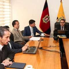 QUITO, Ecuador.- El extitular de Senain no acudió a rendir su versión, Fiscalía debe señalar nueva fecha. Foto: Twitter Fiscalía