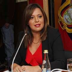 Exministra de Justicia se negó a responder sobre existencia o no de tercer informe pericial. Foto: Archivo Ministerio Justicia