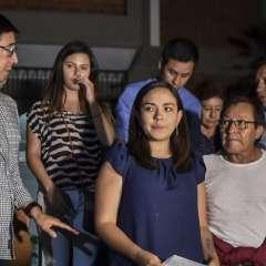 Los resultados de ADN podrían conocerse el martes 26, según familiares de las víctimas. Foto: AFP