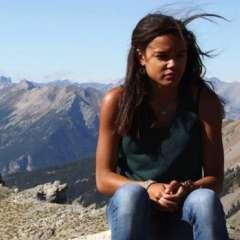 Cedella Roman asegura que no vio señales de la frontera en la playa ni en el camino de tierra por el que pasó.