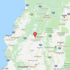 Según el Geofísico, el temblor ocurrió a 4,07 km de la población de Velasco Ibarra. Foto: Twitter