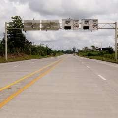 """""""No es la primera vez que los delincuentes utilizan esta carretera"""", uenta su compañero. - Foto: MTOP (referencial)"""