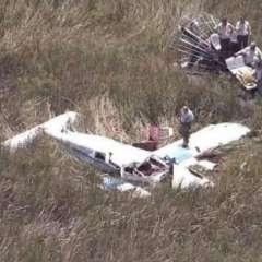 Aeronaves se precipitaron a un humedal, cerca a una carretera del condado de Miami-Dade. Foto: The Miami Herald