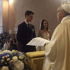 Francisco sorprendió a los presentes