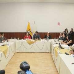 Así lo informó exministro de Justicia, Lenín Lara, durante comparecencia ante comisión. Foto Twitter @AsambleaEcuador