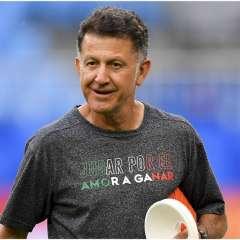 Juan Carlos Osorio, en un entrenamiento con la selección de México. Foto: Imago7