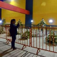 GUAYAQUIL, Ecuador.- La casa del 'Ídolo del Astillero' acogió los homenajes para los hinchas. Foto: API.