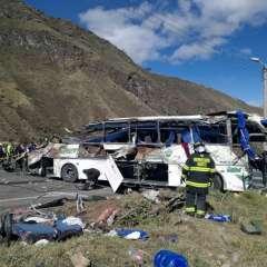 Cinco de los colombianos fallecidos ya han sido identificados. Foto: AFP