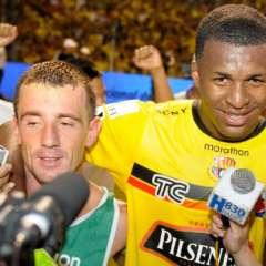 Barcelona anunció el ingreso de Frickson Erazo a sus filas el 18 de julio del 2018. Foto: Radio Huancavilca
