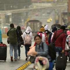 La exigencia de pasaporte a ciudadanos venezolanos rige desde este 18 de agosto. Foto: AFP - Referencial