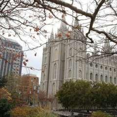 La sede principal de la Iglesia de Jesucristo de los Santos de los Últimos Días está en Salt Lake City, en el estado de Utah.