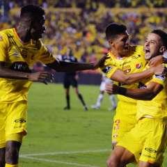 GUAYAQUIL, Ecuador.- Gabriel Marques anotó el segundo gol del cotejo. Foto: API