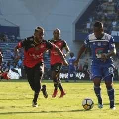 GUAYAQUIL, Ecuador.- Brayan Angulo anotó el único gol del partido contra Deportivo Cuenca. Foto: API