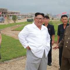 Kim fue nombrado ciudadano honorífico de Guaranda.  Foto: KCNA