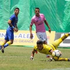 MANTA, Ecuador.- Delfín empató en casa (1-1) con Independiente del Valle. Foto: API