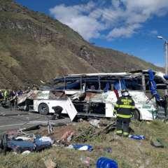 Accidentes en las vías dejan miles de muertos en Ecuador. Foto: AFP - Referencial