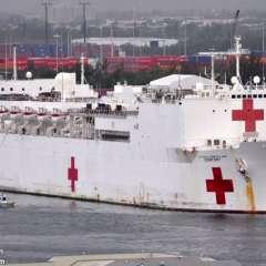 En el buque, de más de 270 metros largo, se realizarán 100 cirugías. Foto: Archivo