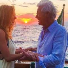 El actor contrajo matrimonio con su actual esposa en abril de 2018. Foto: Instagram Alejandra Gere.