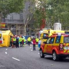 Un muerto en un derrumbe en las obras del hotel Ritz de Madrid. Foto: Twitter