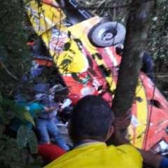 Varios muertos en accidente de bus en la vía Balsas-Machala. Foto: Twitter
