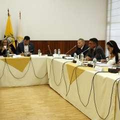 Excomandante de FAE compareció en Comisión de Asamblea por caso Gabela. Foto: API