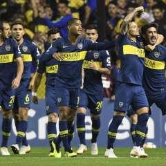 BUENOS AIRES, Argentina.- Boca se impuso por 2-0 ante Cruzeiro con goles de Mauro Zárate y Pablo Pérez. Foto: AFP