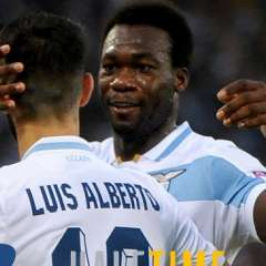 El delantero fue titular en el triunfo sobre el Apollon Limassol por Europa League. Foto: Tomada de @OfficialSSLazio
