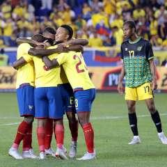 Ecuador apareció en la ubicación número 58 tras sus dos recientes victorias. Foto: API