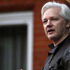 Assange está refugiado en la embajada de Ecuador en Londres desde 2012. Foto: AFP