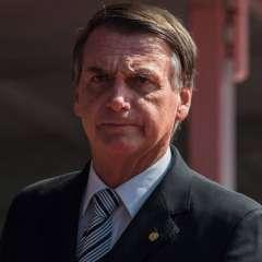 Bolsonaro descarta participar en debates electorales. Foto: AFP
