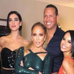 La celebridad reunió a sus colegas para que disfruten de su show en Las Vegas. Foto: Instagram Jlo.