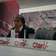 El entrenador criticó que se juegue alas 12 del mediodía en Quito. Foto: @BarcelonaSC