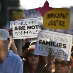En junio finalizó política que separó a familias cuando pasaban ilegalmente a EEUU. Foto: Archivo AFP