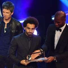 El jugador egipcio también está nominado a mejor jugador del año. Foto: Ben STANSALL / AFP
