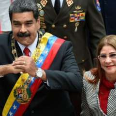 El Departamento del Tesoro ha impuesto sanciones sobre Cilia Flores, la esposa de Nicolás Maduro.