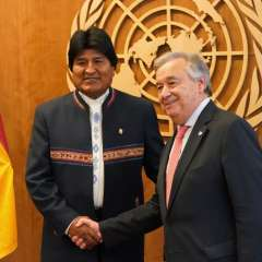 El 1 de octubre se dará fallo sobre el pedido boliviano a Chile para acceder al mar. Foto: AFP