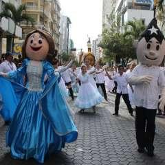 Calendario de actividades por las fiestas de Guayaquil. Foto: Municipio de Guayaquil