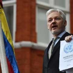 LONDRES, Reino Unido.- Julian Assange (47 años) está refugiado desde junio de 2012 en la embajada de Ecuador. Foto: AFP/Archivo.