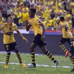 GUAYAQUIL, Ecuador.- Félix Torres anotó el único gol del partido. Foto: API