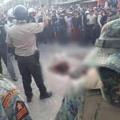 POSORJA, Ecuador.- Los sospechosos fueron acusados de robar $200 y 2 celulares. Foto: Captura Video.