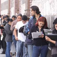 El desempleo se mantiene estable. Foto: Archivo