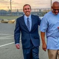 Horace Roberts, de 60 años, pasó dos décadas en la cárcel injustamente. Foto: @CA_Innocence