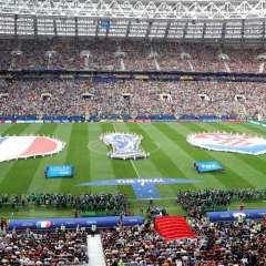MOSCÚ, Rusia.- Además de la capital, la Copa Mundial 2018 se desarrolló en otras diez ciudades. Foto: AFP
