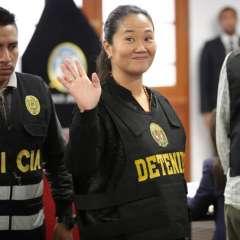 Keiko Fujimori, la hija del autócrata que quiere ser presidenta. Foto: AFP