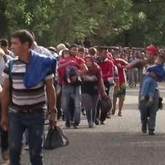 Caravana de migrantes: los 2.000 centroamericanos