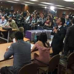 La jueza Camacho fijó la diligencia para el 7 de noviembre de 2018. Foto: Archivo Twitter