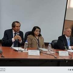 Posesionada la Comisión Interventora a cargo de la U. de Guayaquil. Foto: @ces_ec