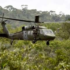 4 muertos en Colombia en siniestro de helicóptero militar. Foto: Referencial