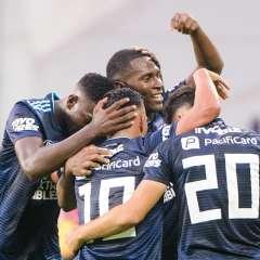 Los 'azules' superaron 3-1 a los 'celestes' en el estadio George Capwell. Foto: API